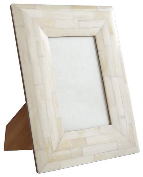 Bone Photo Frame - Rectangle traditional-frames