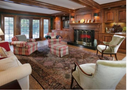 paint colors that go with dark wood paneling