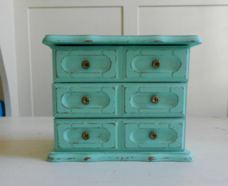 Up Cycled Vintage Jewelry Box by kidblue on Etsy eclectic