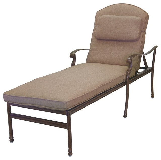 ... and Pillow - 201020-33/303-AB - Contemporary - Outdoor Chaise Lounges