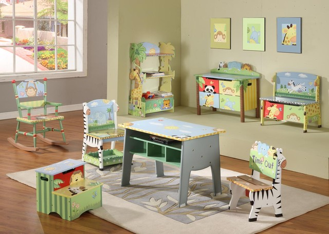 Sunny safari room collection teamson com traditional nursery
