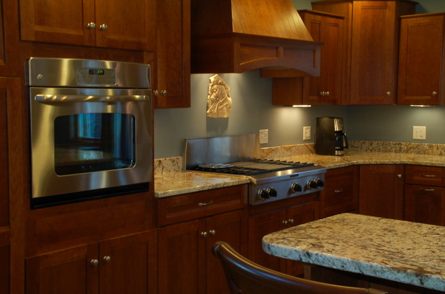 Tye Valentino Designs traditional kitchen