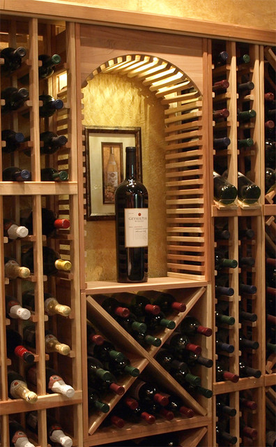 Small Decorative Cellar Arch - Traditional - Wine Racks - salt lake city - by Wine Racks America