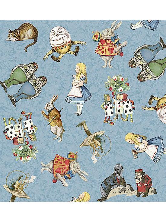 Kawaii Wonderland - Alice in Wonderland Fabric, 100% Cotton.  MUST HAVE!!
