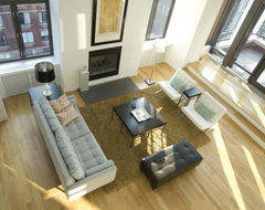 chelsea atelier contemporary living room