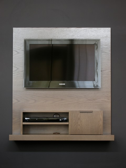 Backdrop Wall Mounted Media Console Narrow Modern
