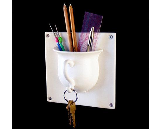 Hookmaker Teacup Tile For Storage -