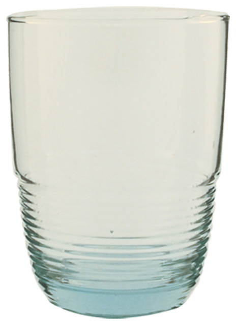 Recycled Glass Tumbler, Set Of 6 - Large contemporary-everyday-glassware