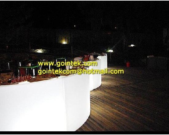 Illuminated Led Bar Counter For Bar With Remote Control -