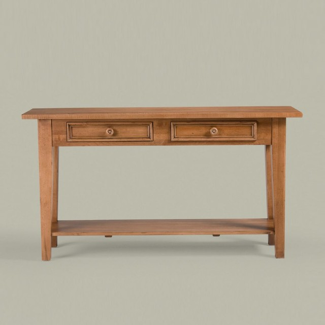 New country by ethan allen sofa table traditional buffets and sideboards other metro by - Ethan allen buffet table ...