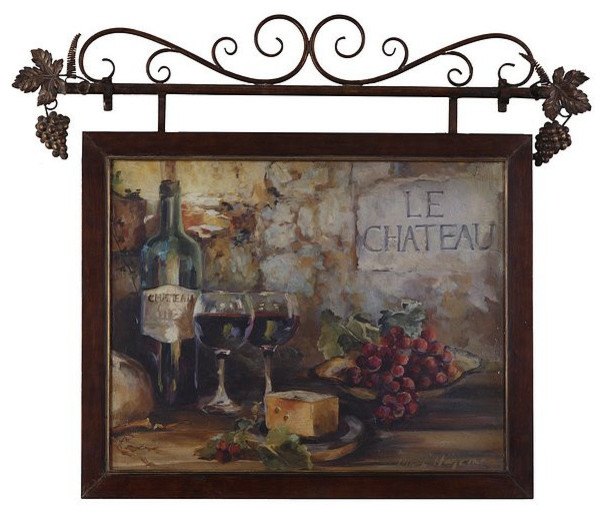 Uttermost Le Chateau Framed Art 50964 Transitional