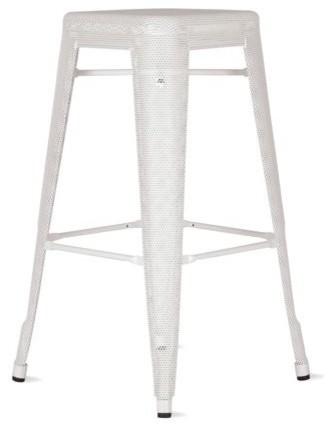 Tolix marais counter stool perforated industrial bar stools and counter stools by design - Marais counter stool ...