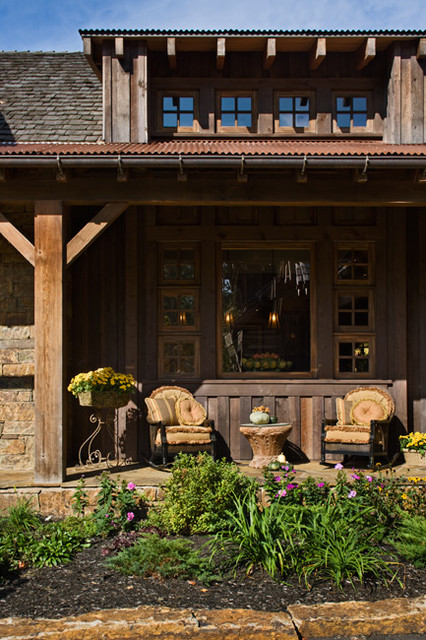Ontario Residence traditional-porch