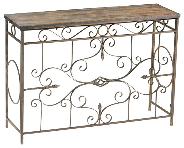 Cyan Design 04089 Schafer Iron Console transitional-furniture