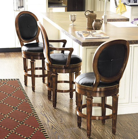 Berkshire Counter Stool With Arms Traditional Bar