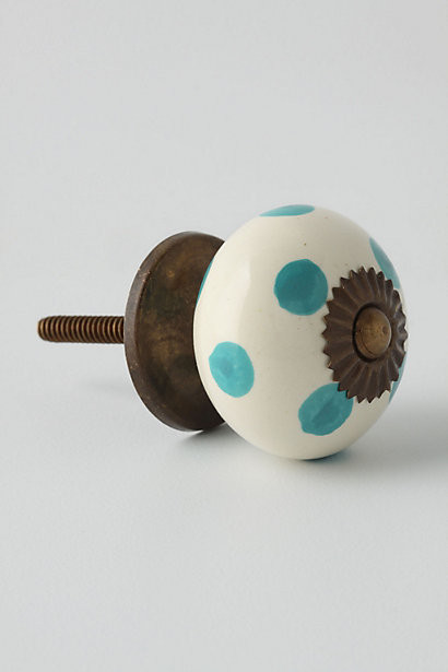 Dotted Zinnia Knob eclectic-cabinet-and-drawer-knobs