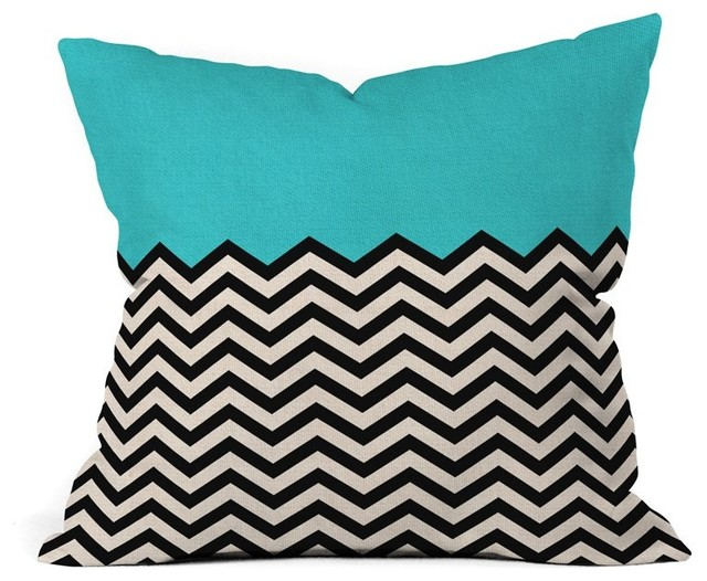 DENY Designs Bianca Green Follow The Sky Outdoor Throw Pillow - 14071-OTHRP18 contemporary-outdoor-pillows