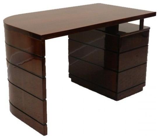 Art Deco Desk In Style Of Gilbert Rohde