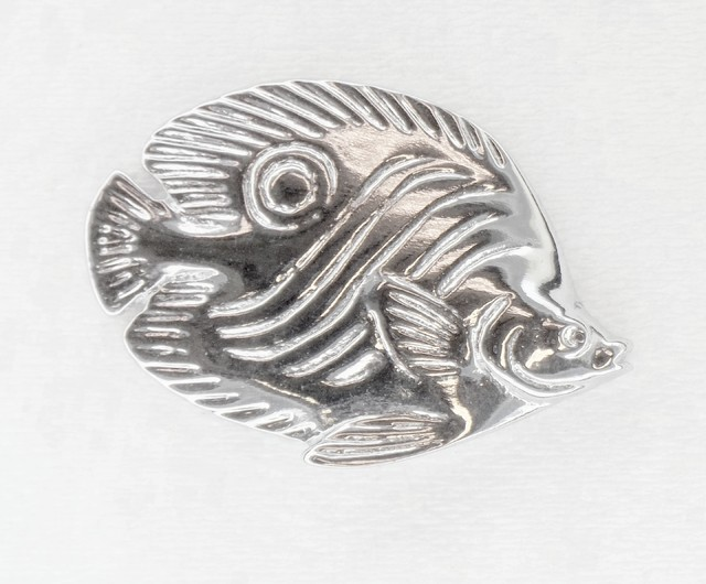 Butterfly fish cabinet hardware for Fish drawer pulls