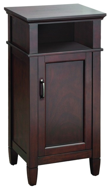 Foremost Asgf1735 Ashburn Floor Cabinet In Mahogany Traditional Bathroom Cabinets And