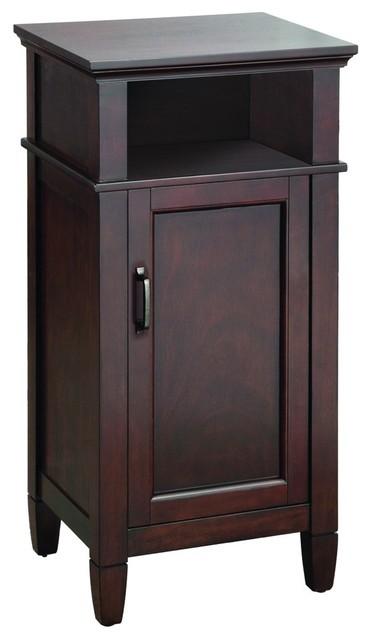 foremost asgf1735 ashburn floor cabinet in mahogany