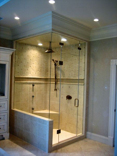 Corner Showers Shower Stalls And Kits Louisville By Showcase Showers Inc