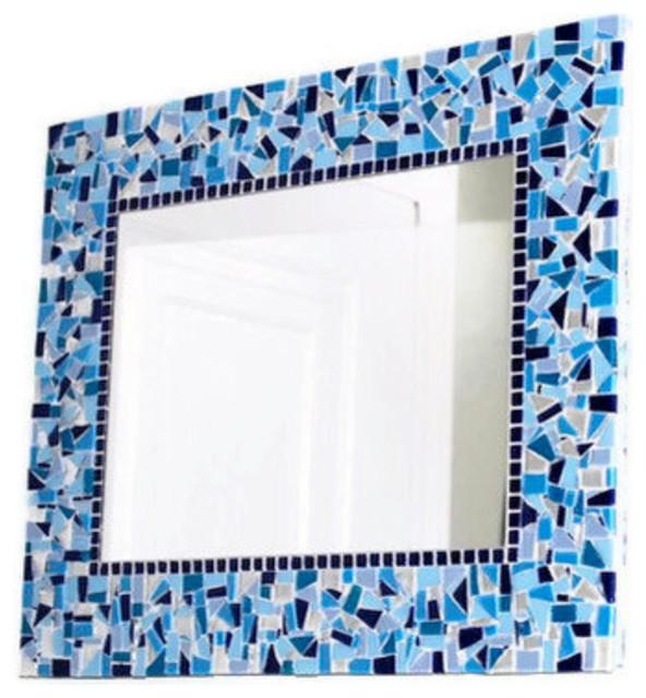 Mosaic Mirrors from Green Street Mosaics modern-mirrors
