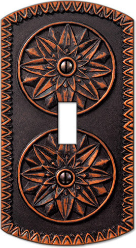 York Antique Bronze Wallplates switch-plates-and-outlet-covers