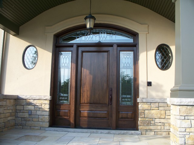 Front Door Decorative Glass Replacement