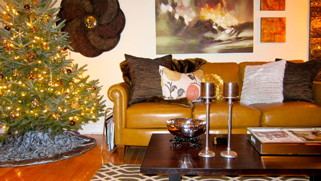 Christmas Decorating eclectic-family-room
