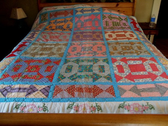 traditional quilts by Etsy