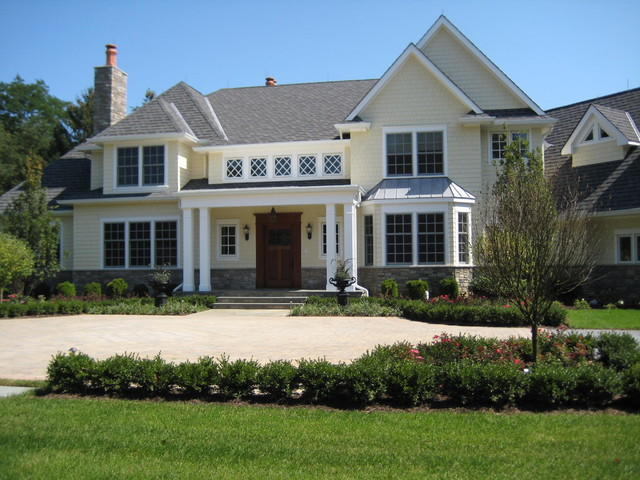 Rumson Home traditional-exterior