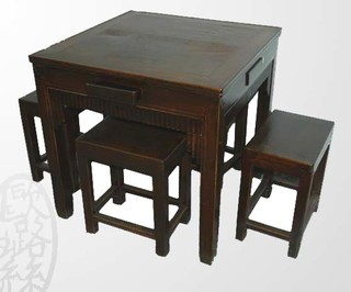 Asian Antique Furniture - Asian - Dining Tables - other metro - by ...