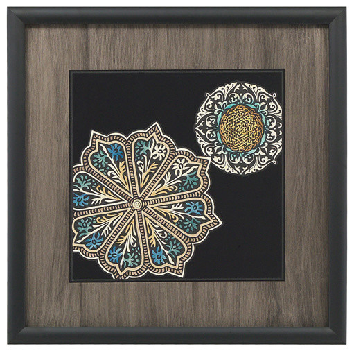 John Richard Midnight Rosette III contemporary-artwork