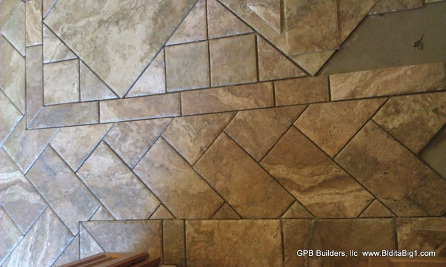 Custom tile designs by gpb modern wall and floor tile Unique floor tile designs