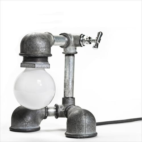pipe lamp contemporary-table-lamps