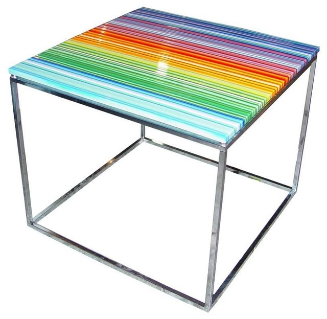 Glass Table by Orfeo Quagliata For Phuse eclectic side tables and accent tables
