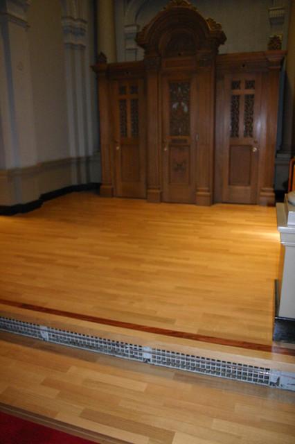 Church hardwood-flooring