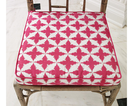 Solitaire/Seat Cushion, Fuchsia -