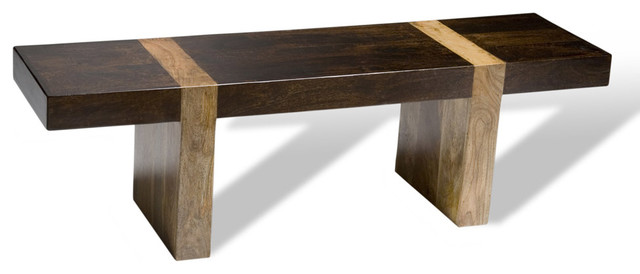Berkeley Bench Contemporary Benches By Interlude Home