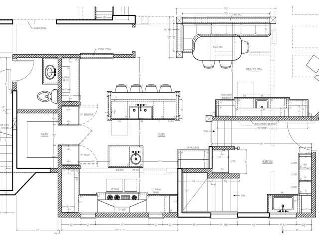 artistic winnetka kitchen transitional floor plan