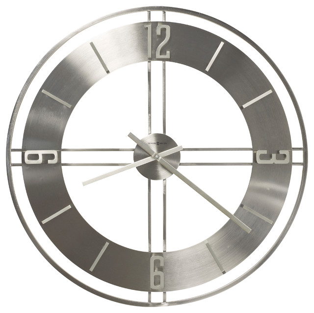 Howard Miller Modern 30 Oversized Quartz Wall Clock Stapleton Midce