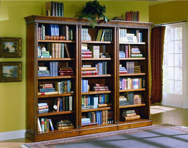3 PC Bookcase Set contemporary-storage-and-organization