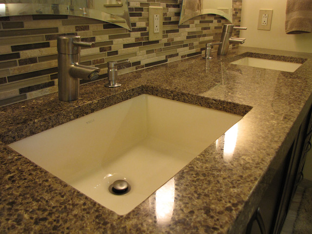 Master bath remod for Master bathroom countertops