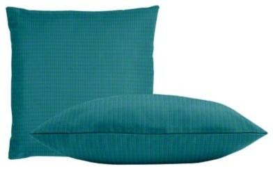 Sunbrella Spectrum Peacock Throw Pillow Set contemporary-decorative-pillows