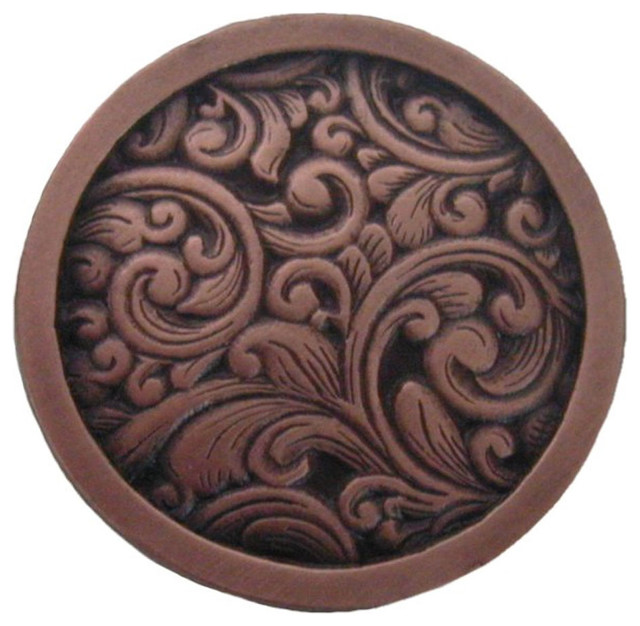 Saddleworth Knob (antique copper) - Traditional - Cabinet And Drawer Knobs - by Inviting Home Inc