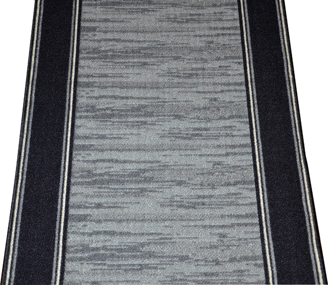 Dean Washable Carpet Rug Runner - Boxer Grey - Purchase By ...