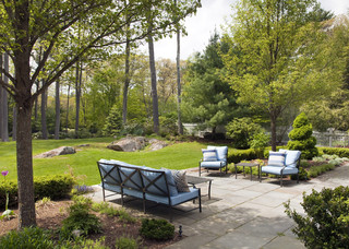 landscaping ideas aren't just about plants, they're about people and conversations like this seating area