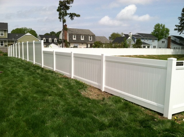Combo 4 Ft amp 6 High PVC Privacy Fence