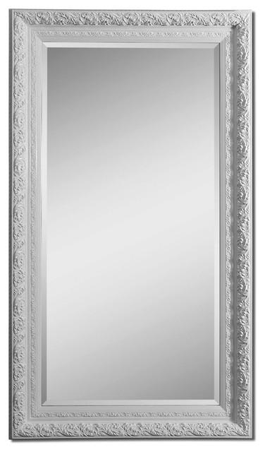 Uttermost 14470 Liscia Oversized White Mirror contemporary-mirrors